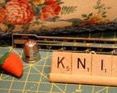 Sewing Quilting  Accessories, Gift Sets, Scrabble Word Ornaments