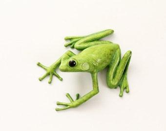 Tree Frog - Bronze (large, green)