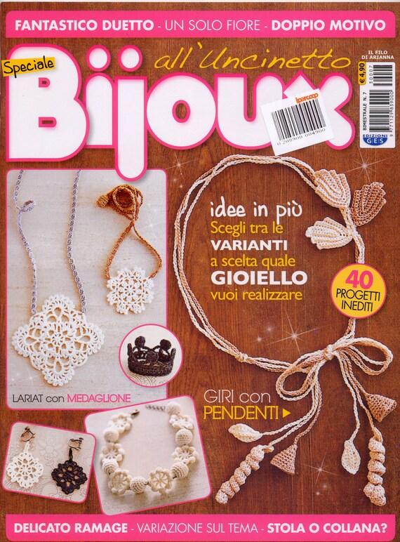 bijoux all 39 uncinetto libri riviste gioielli crochet