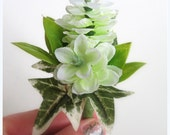 Faux Wedding Boutonniere - Anniversary Boutonniere - Prom Boutonniere - Father's Day Boutonniere - Variegated Hops Boutonniere