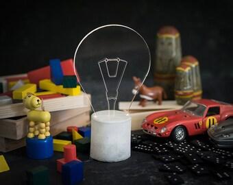 Bulb night light, baby lighting, modern night light, nursery lamp, baby shower gift