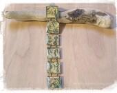 Green Arrow Bracelet - Original Vintage Justice League of America Bracelet - Vintage Comic Book Bracelet - Comic Book Jewelry