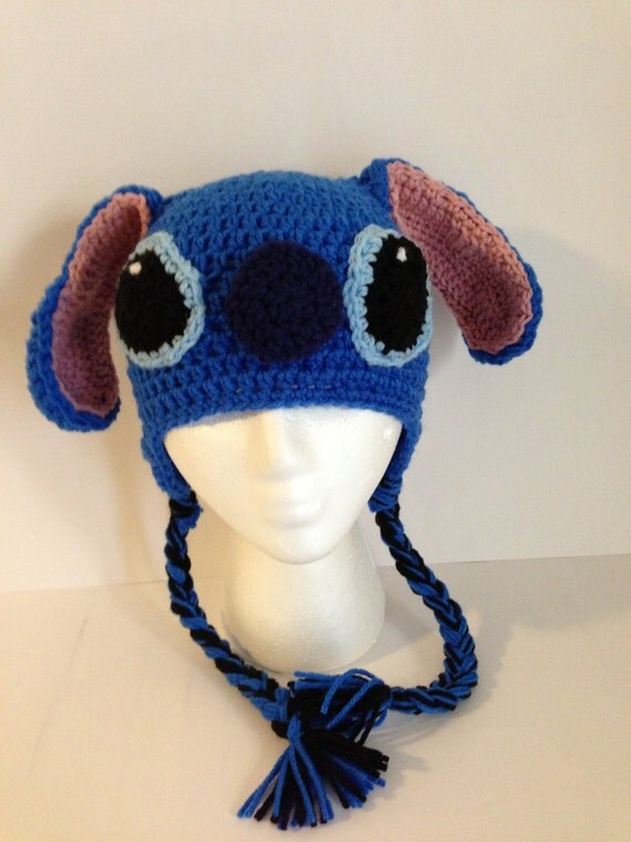Stitch Crochet Beanie Pattern by grammabeans on Etsy