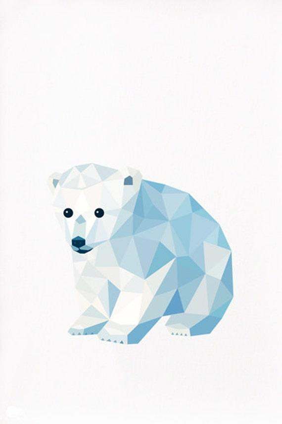 Dimensions Select dimensions A5   14 00  A4   16 00  A3   40 00  8x10    Geometric Bear Drawing