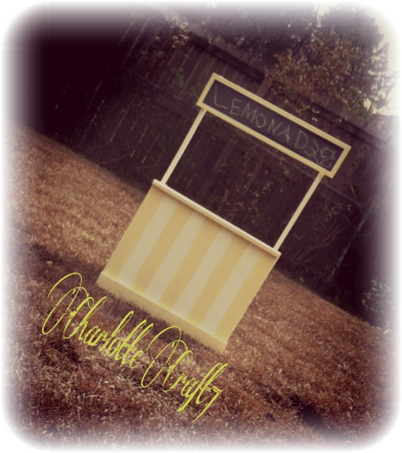 Lemonade Stand Photography Prop