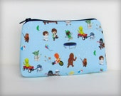 Star Wars Kids - Makeup Bag or Pouch - ADORABLE - Baby Blue