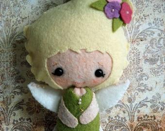 Little Felt Doll - Woodland Fairy - Gingermelon Design