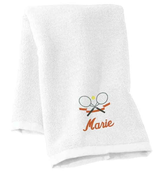 Tennis Gifts Tennis Gifts For Her Tennis Towel Tennis