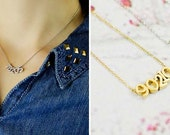 Personalized Silver Zip Code Necklace