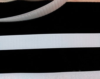 """Velcro Brand Hook and Loop Sew on Tape 3/4"""" Wide White"""