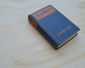 Babbitt by Sinclair Lewis First Edition 1922