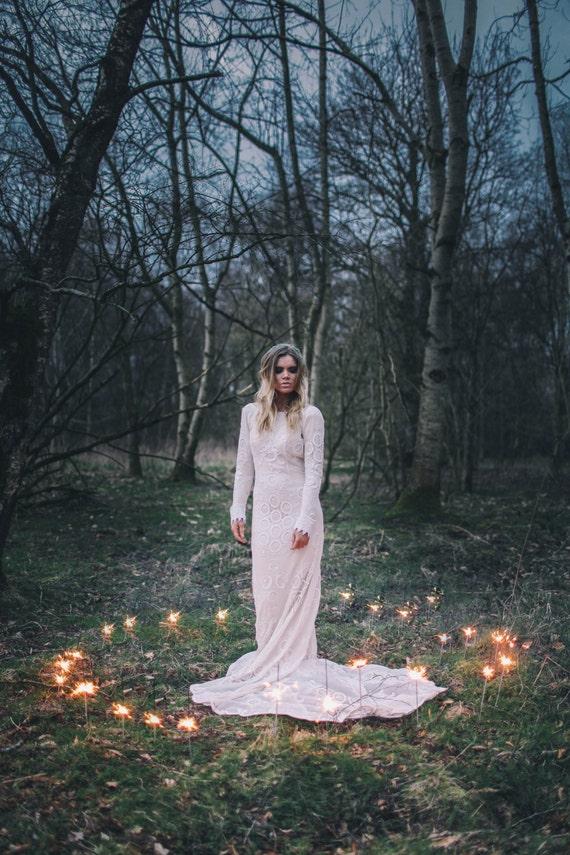 Items Similar To As Seen In VOGUE Meadow Bohemian Luxe Crochet Wedding Dress On Etsy