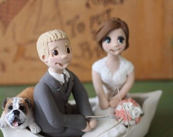 Items Similar To Custom Boat Wedding Cake Topper On Etsy