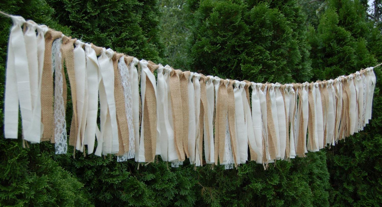 Burlap Wedding Banner-Rustic-Wedding Banner-Wedding