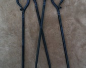 Hand Forged Grilling Skewers (x4)
