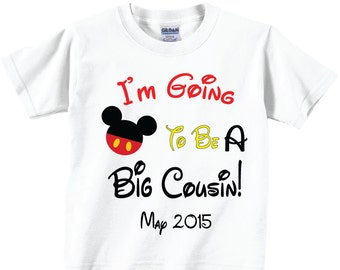I'm Going to Be A Big Cousin Shirts