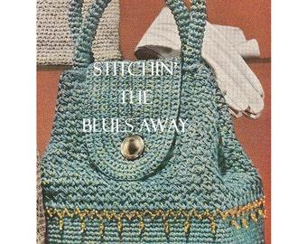 Beaded crochet purse patterns Etsy