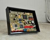 Houseware Desk Clock - Modern Industrial Clock - Cool Gift For Men