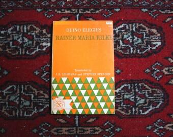 Duino Elegies (German Text)with an English Translation, RANIER MARIA RILKE