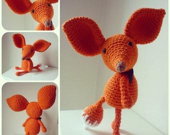 Mister Fox: A Crochet PDF Pattern