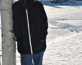 Men's Comfy Hoodie / Zip Up Jacket Sewing Pattern. Men's PDF Pattern. Hoodie Pattern.  Sizes XS - 3XL