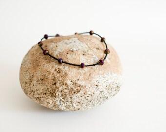 Boysenberry Necklace
