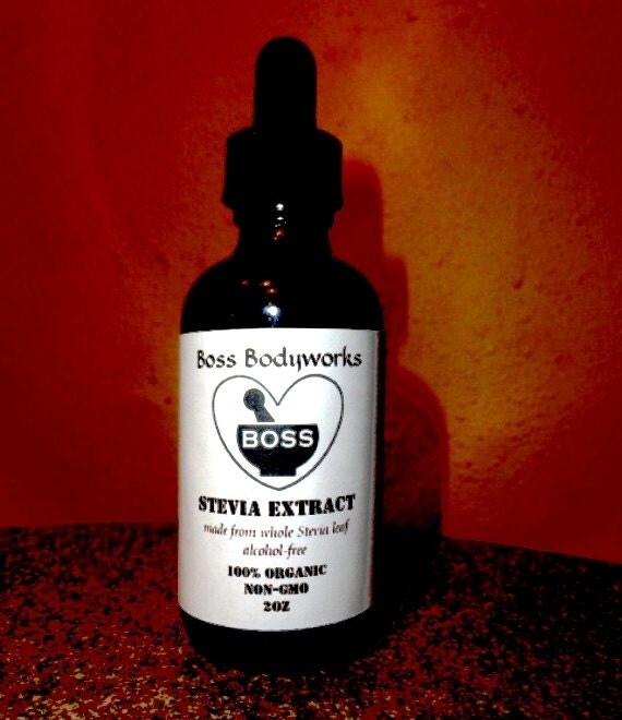 how to make alcohol free stevia extract