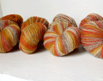 Sport weight  artistic WOOL -  orange honey beige