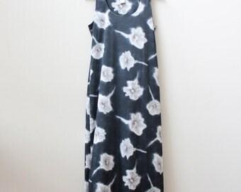 90s Flower Maxi Dress