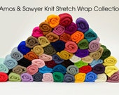 Set of 10, Stretch Knit Wrap, Choose from 58 Colors, newborn baby layer photography prop