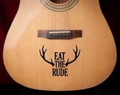 "Hannibal ""Eat the Rude"" Vinyl Decal"