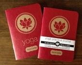 Yoga Practice Journal (Blank Inside)