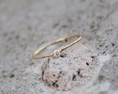Birthstone Stacking Ring in Gold, Choose Your Color