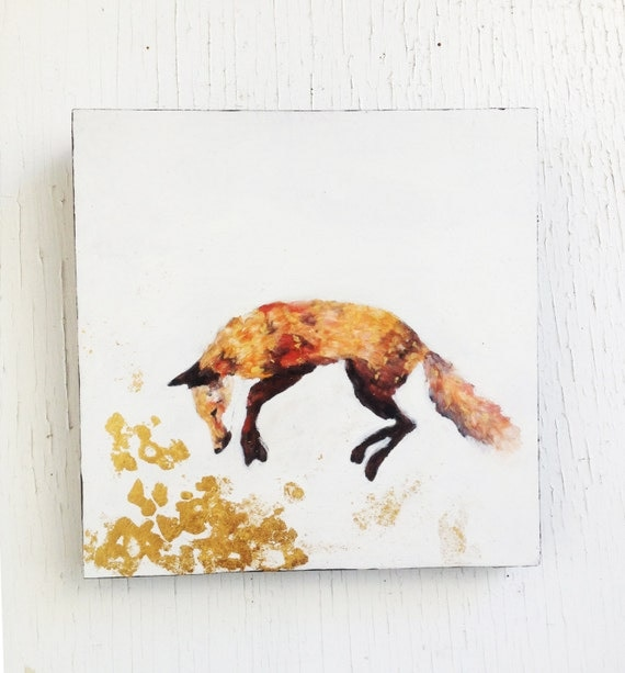 how to add gold leaf to oil painting