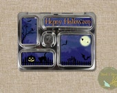 Halloween Lunchbox Magnets: Usable on Planetbox Rover