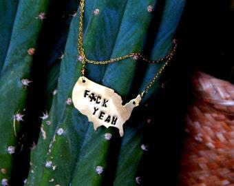 Merica | Team America Inspired Necklace