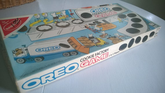 80's Oreo Cookie Factory Board