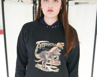 Tyrannosaurus Dinosaur jumper, r, Dinosaur sweatshirt, Dinosaur sweater, Dinosaurs, Jurassic Park, T-rex sweatshirt, T-rex, Jurassic, New