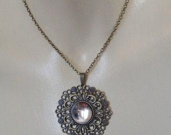 Victorian bronze necklace
