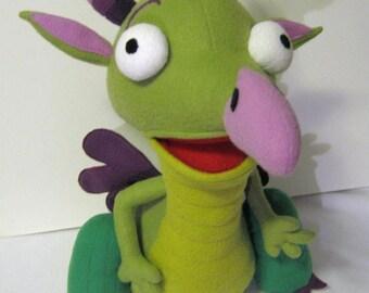 Dragon Draco plush toy- medium size