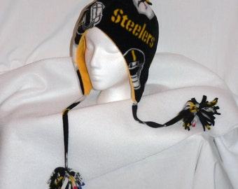 Pittsburgh Steelers Polar Fleece Bomber Hat