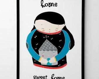 Print- Home Sweet Home-