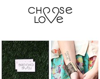 Choosy - Temporary Tattoo (Set of 2)