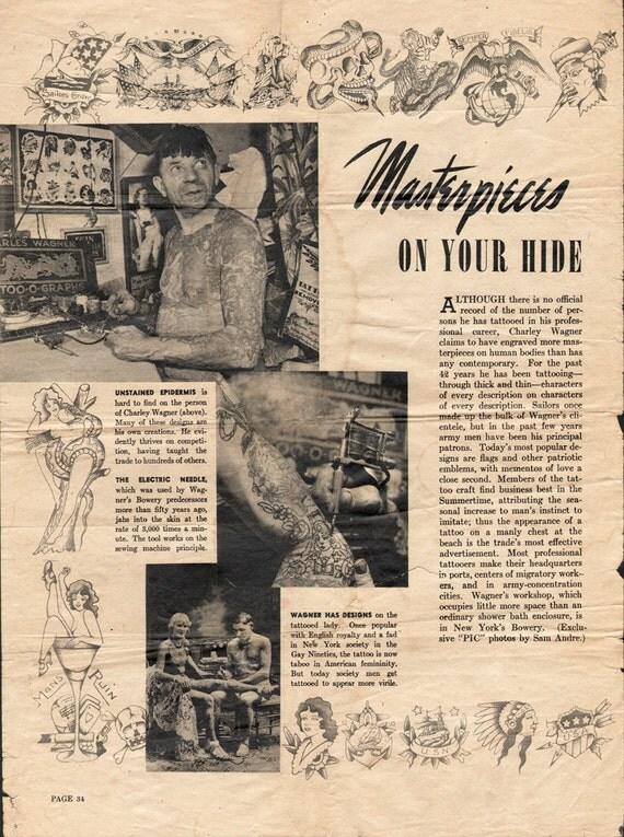 vintage flash ephemera 3 pg wagner magazine