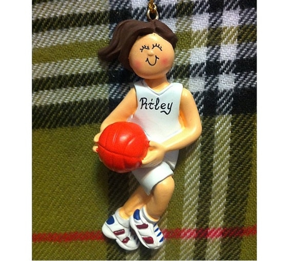 Personalized Female Basketball Player By Personalizestation