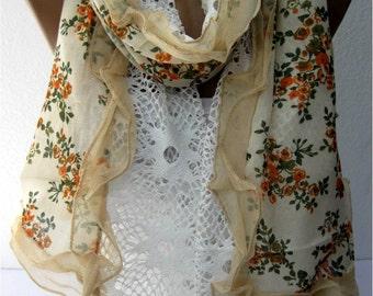 Fashion Elegant Scarf- Trend Scarf- Shawls-Scarves- Scarf