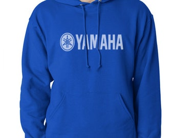 Yamaha motorcycle hoodie sweat shirt