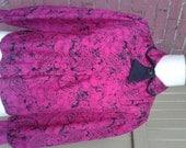 Vintage Pink and Black Bl...
