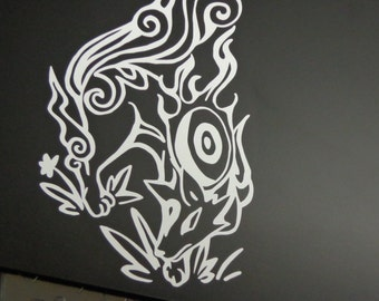 Amaterasu Vinyl Decal from Okami