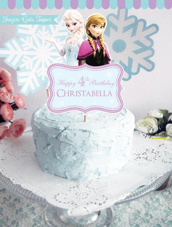 Etsy Frozen Cake Decorations : Frozen cake toppers - deals on 1001 Blocks